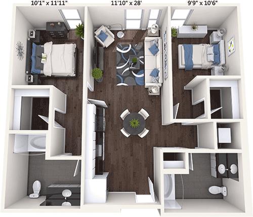Potrero 1010 Apartments in Downtown San Francisco – 1010 16th St on